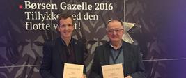 10 år og Gazelle 2016